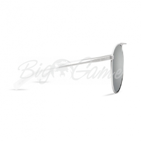 Очки COSTA DEL MAR Piper 580 GLS р. M цв. Velvet Silver Frame цв. ст. Gray Silver Mirror фото 2