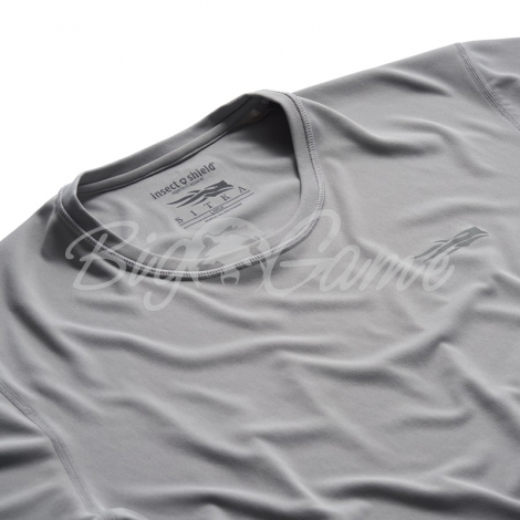 Футболка SITKA Basin Work Shirt SS цвет Granite фото 2