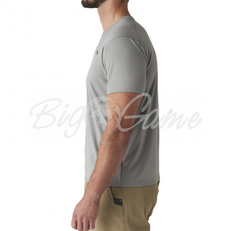 Футболка SITKA Basin Work Shirt SS цвет Granite фото 4