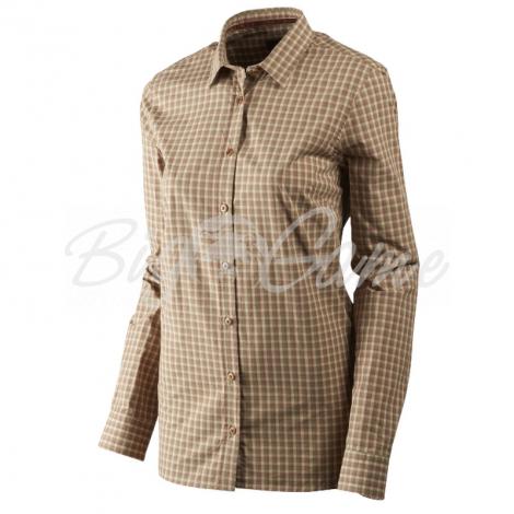Рубашка HARKILA Selja Lady LS Check Shirt цвет Moonlight rose check 14010988205 фото 1