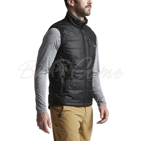 Жилет SITKA Kelvin AeroLite Vest цвет Black фото 5