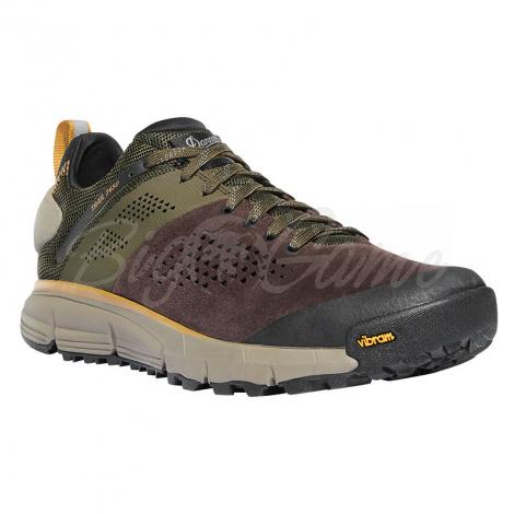 "Ботинки треккинговые DANNER Trail 2650 3"" цвет Dark Brown / Green фото 1"