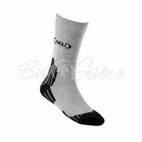 НОСКИ AKU HIKING LOW SOCKS цвет ch./Nero фото 1