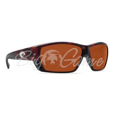 Очки COSTA DEL MAR Tuna Alley Readers 580 P +2.00 р. L цв. Matte Black цв. ст. Copper Mate фото 1