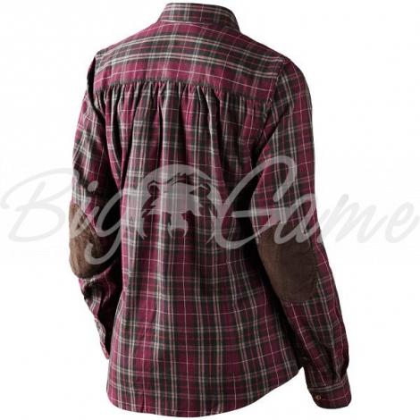 Рубашка SEELAND Pilton Lady Shirt цвет Raisin check 14020707705 фото 2