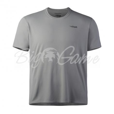 Футболка SITKA Basin Work Shirt SS цвет Granite фото 1