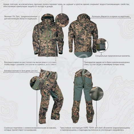 Куртка SITKA Coldfront Jacket New цвет Dirt фото 2