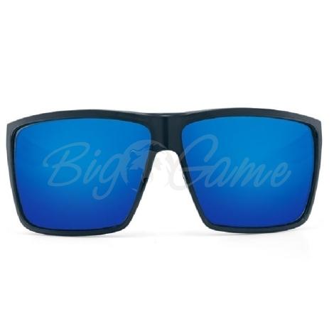 Очки COSTA DEL MAR Rincon 580 GLS р. XL цв. Shiny Black цв. ст. Blue Mirror фото 3