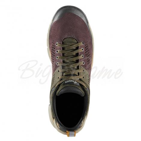 "Ботинки треккинговые DANNER Trail 2650 3"" цвет Dark Brown / Green фото 3"