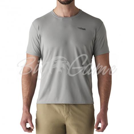 Футболка SITKA Basin Work Shirt SS цвет Granite фото 6