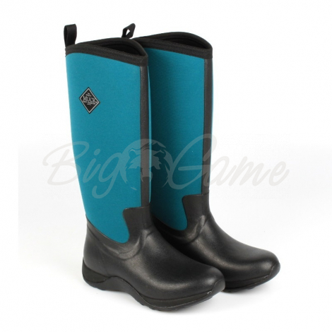 Сапоги MUCKBOOT Arctic Adventure цвет Черный / бирюзовый WAA-300-6 фото 1