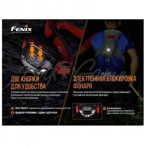 Фонарь налобный FENIX HL18R-T (Cree XP-G3 S3, EVERLIGHT 2835) фото 18
