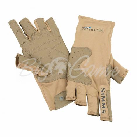Перчатки SIMMS Solarflex Guide Glove цвет Cork фото 1