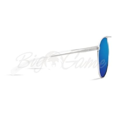 Очки COSTA DEL MAR Piper 580 GLS р. M цв. Velvet Silver Frame цв. ст. Blue Mirror фото 2