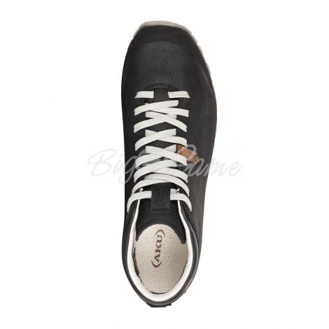 Ботинки треккинговые AKU Bellamont III FG Mid GTX цвет black / white фото 2
