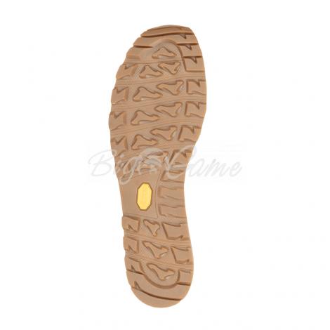 Ботинки треккинговые AKU Bellamont III Suede GTX цвет Dark Brown / Yellow 504.3-305-10 фото 3