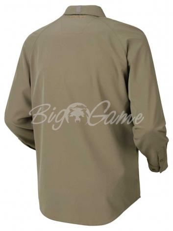 Рубашка HARKILA Herlet Tech LS Shirt цвет Light Khaki фото 2