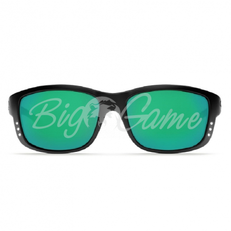 Очки COSTA DEL MAR Zane 580 P р. L цв. Black цв. ст. Green Mirror фото 2