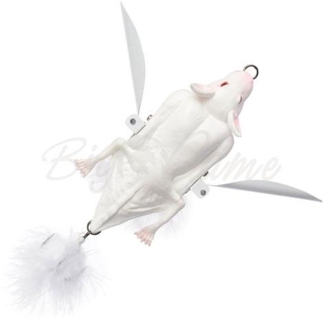 Приманка SAVAGE GEAR 3D Bat 10 см цв. Albino фото 1