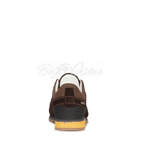 Ботинки треккинговые AKU Bellamont III Suede GTX цвет Dark Brown / Yellow 504.3-305-10 фото 4
