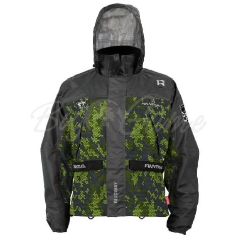 Куртка FINNTRAIL Mudway 2000 цвет Камуфляж / Зеленый фото 1