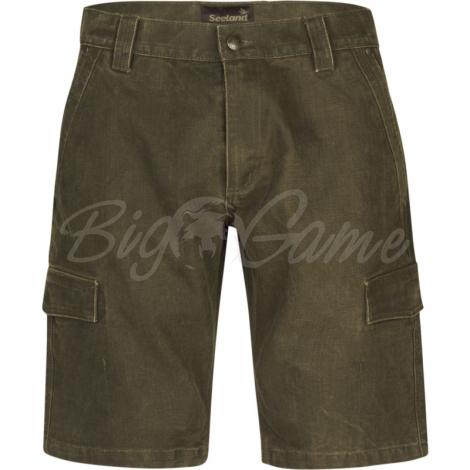 Шорты SEELAND Flint Shorts цвет Dark Olive фото 1