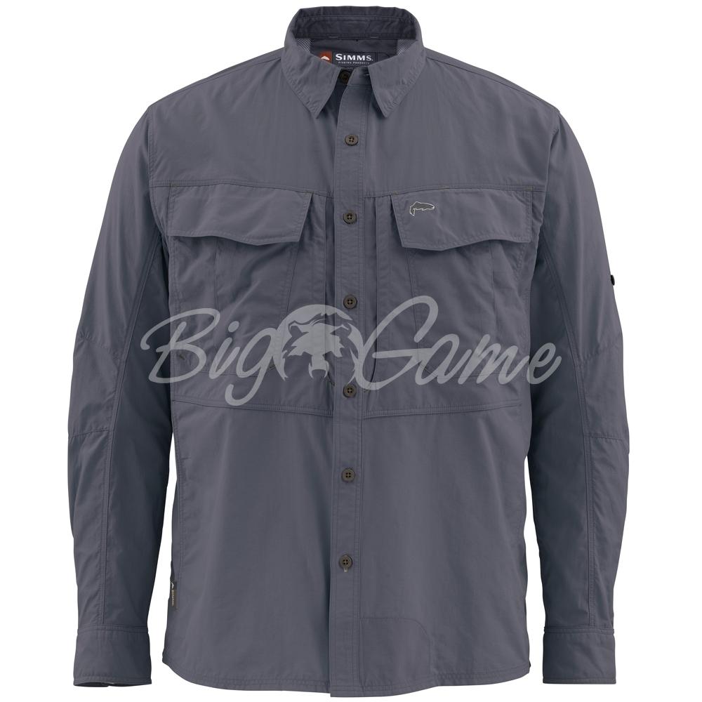 2c66b0fffc0 Купить рубашку SIMMS Guide Shirt цвет Nightfall в интернет магазине ...