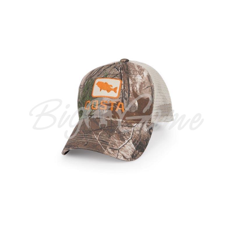 9c57716a35 Бейсболка COSTA DEL MAR Bass Trucker Hat цв. Real Tree Camo   Stone COS-