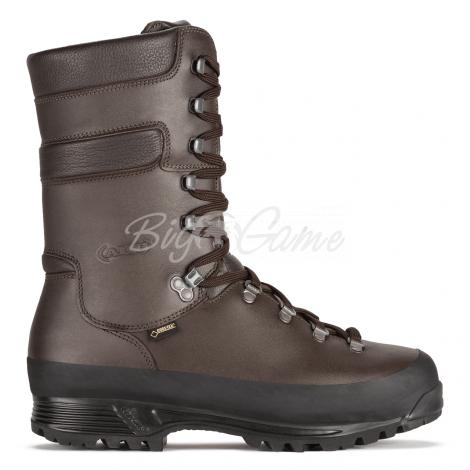 Ботинки охотничьи AKU Grizzly Wide GTX цвет brown 907.3-050-8 фото 5