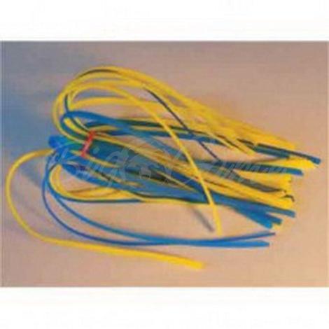Силиконовая юбка МОРОЗОВ двухцветная цв. желто-синий фото 1