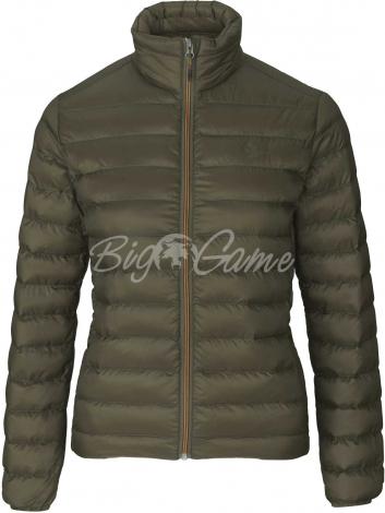 Куртка SEELAND Hawker Quilt Jacket Woman цвет Pine green 10021622805 фото 1