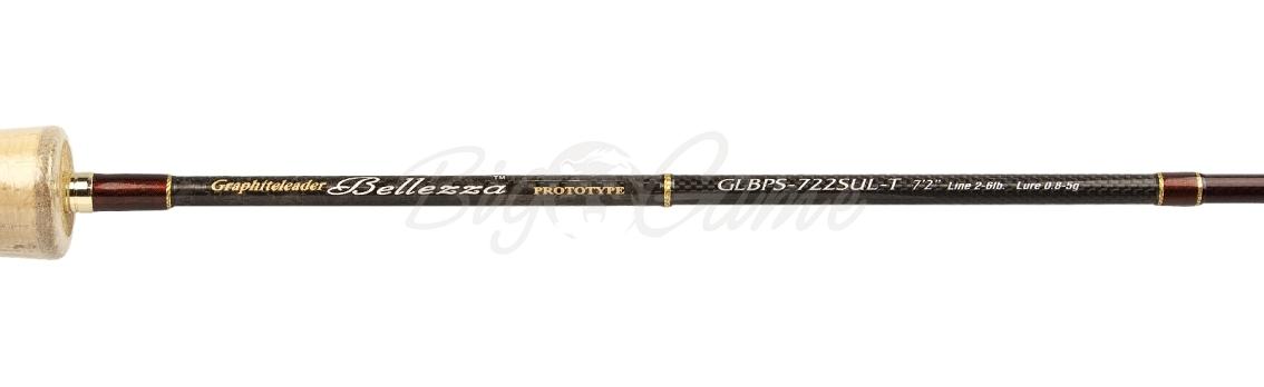 Удилище спиннинговое GRAPHITELEADER Bellezza Prototype 722SUL-T тест 0,8 - 5 г GLBPS-722SUL-T фото 3