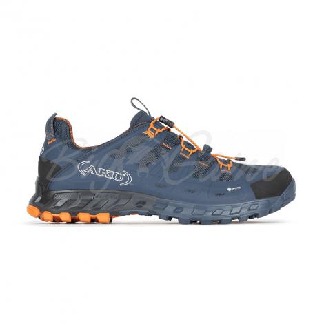 Ботинки треккинговые AKU Selvatica GTX цвет Blue / Orange фото 2