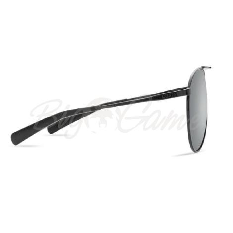 Очки COSTA DEL MAR Piper 580 P р. M цв. Shiny Black цв. ст. Gray Silver Mirror фото 2