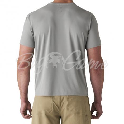 Футболка SITKA Basin Work Shirt SS цвет Granite фото 5