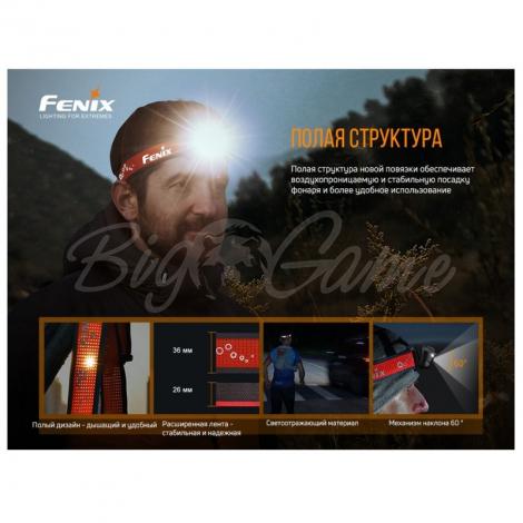 Фонарь налобный FENIX HL18R-T (Cree XP-G3 S3, EVERLIGHT 2835) фото 3
