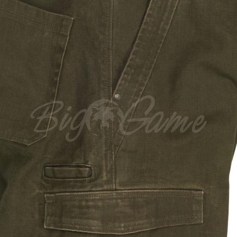 Шорты SEELAND Flint Shorts цвет Dark Olive фото 2