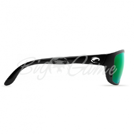 Очки COSTA DEL MAR Zane 580 P р. L цв. Black цв. ст. Green Mirror фото 3