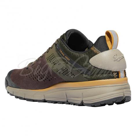 "Ботинки треккинговые DANNER Trail 2650 3"" цвет Dark Brown / Green фото 4"