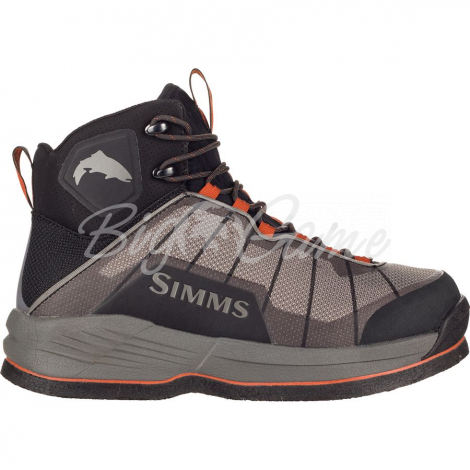 Ботинки SIMMS Flyweight Boot Felt цвет Steel Grey фото 1