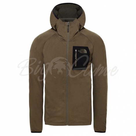 Куртка THE NORTH FACE Men's Borod Hoodie цвет New Taupe Green / TNF Black фото 1