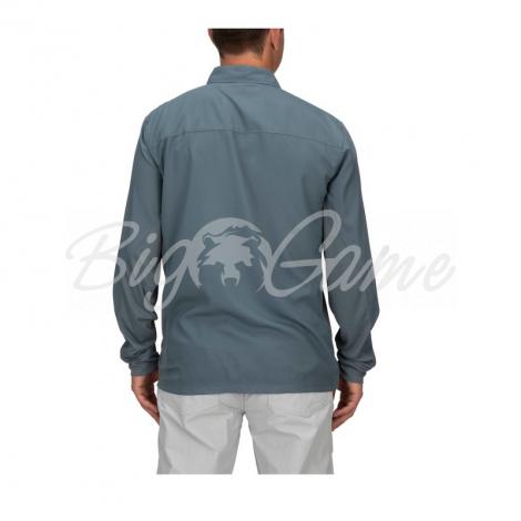 Рубашка SIMMS Bugstopper Intruder BiComp LS Shirt '21 цвет Storm фото 6