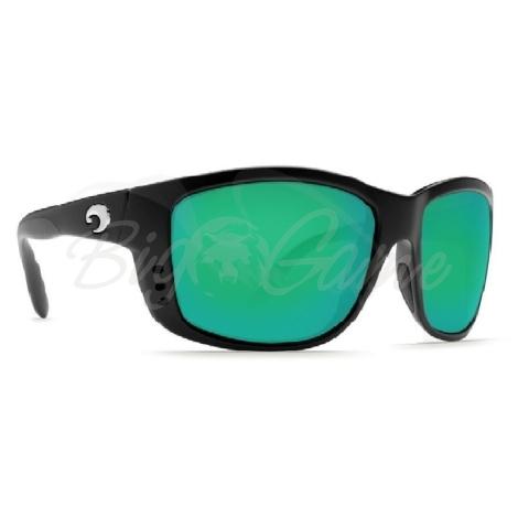 Очки COSTA DEL MAR Zane 580 P р. L цв. Black цв. ст. Green Mirror фото 1