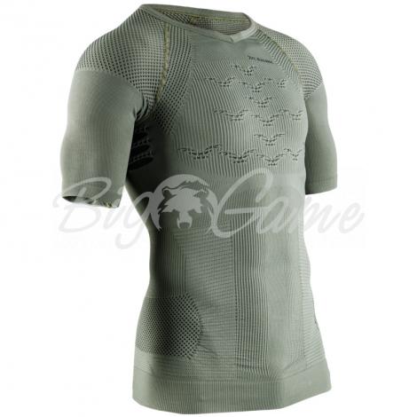 Футболка X-BIONIC Combat Energizer 4.0 Shirt SH Men цвет Оливковый фото 1