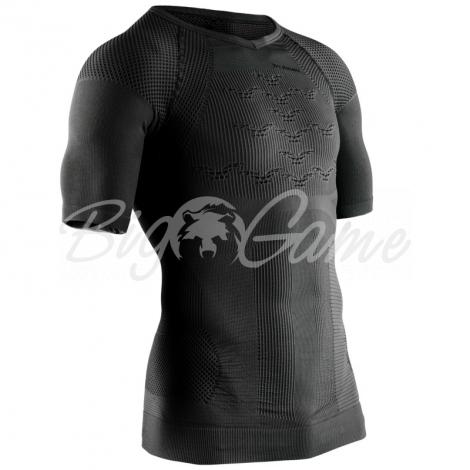 Футболка X-BIONIC Combat Energizer 4.0 Shirt SH Men цвет Черный / Антрацит фото 1