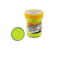 Паста BERKLEY Powerbait Natural Scent Glitter Troutbait 50 г аттр. чеснок цв. шартрес