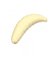"""Червь TROUT ZONE Maggot 1,6"""" зап. сыр (10 шт.) цв. 111 белый"""