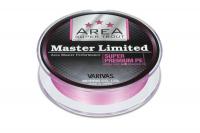 Плетенка VARIVAS Master Limited Super Premium PEx4 75 м цв. Розовый # 0,15