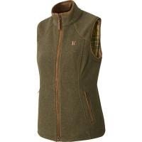 Жилет HARKILA Sandhem lady fleece waistcoat цвет Dusty Lake Green Melange