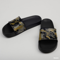 Пантолеты TNF Base Camp Slides II цвет Burnt Olive Green Woods Camo/Black